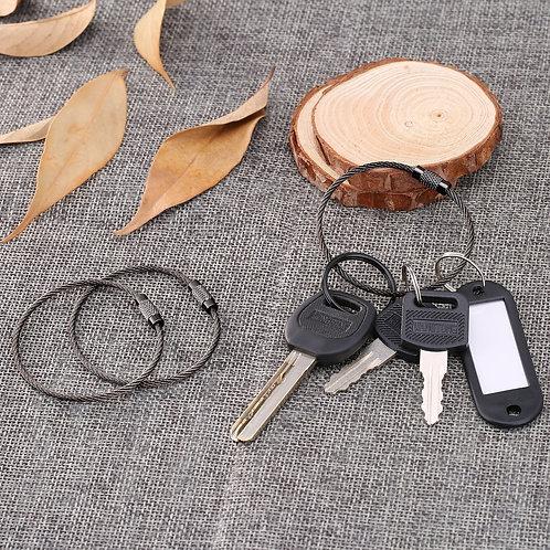 Кольцо - карабин в виде троса
