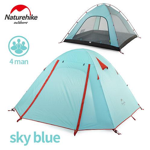 Палатка четырехместная NATUREHIKE | P-Series