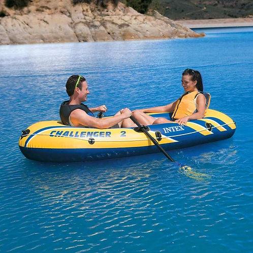 Надувная лодка Intex Challenger-2 - двухместная