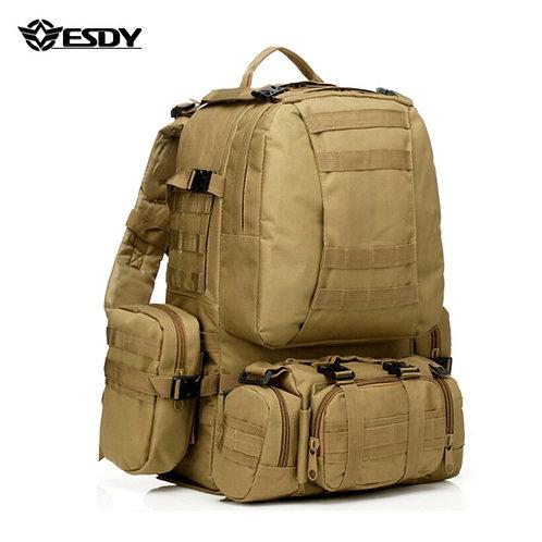 ESDY Армейский тактический походный рюкзак 50L   Хаки