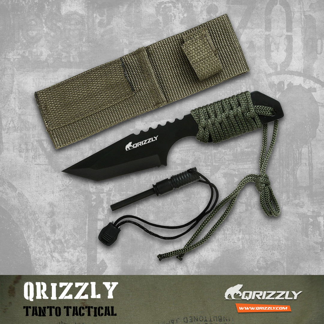 QRIZZLY Tanto Tactical