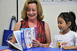 Teaching reading at I Can Read