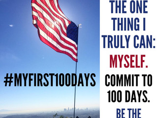#MyFirst100Days: Join Me For A Practical Campaign to Build the World We Want Through Personal Respon