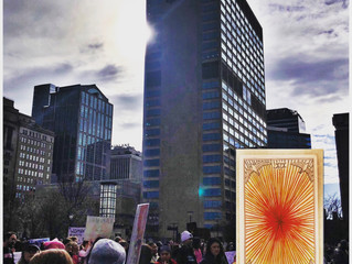 Ben's Weekly Spark 1.20.19: The Sun Shines on the Women's March, My Interview & My Persp