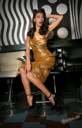 Johanna from NBC's First Look by Bettina May, Beauty Bar NYC