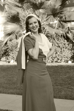 Bettina May in Simplicity Patterns