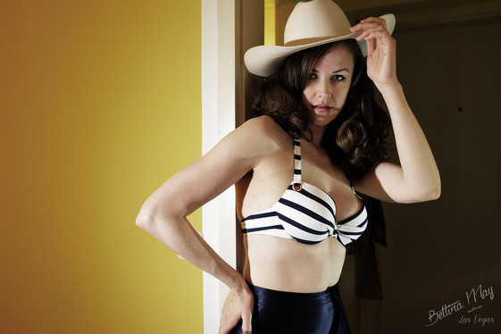 Bettina May in Disco Cowgirl