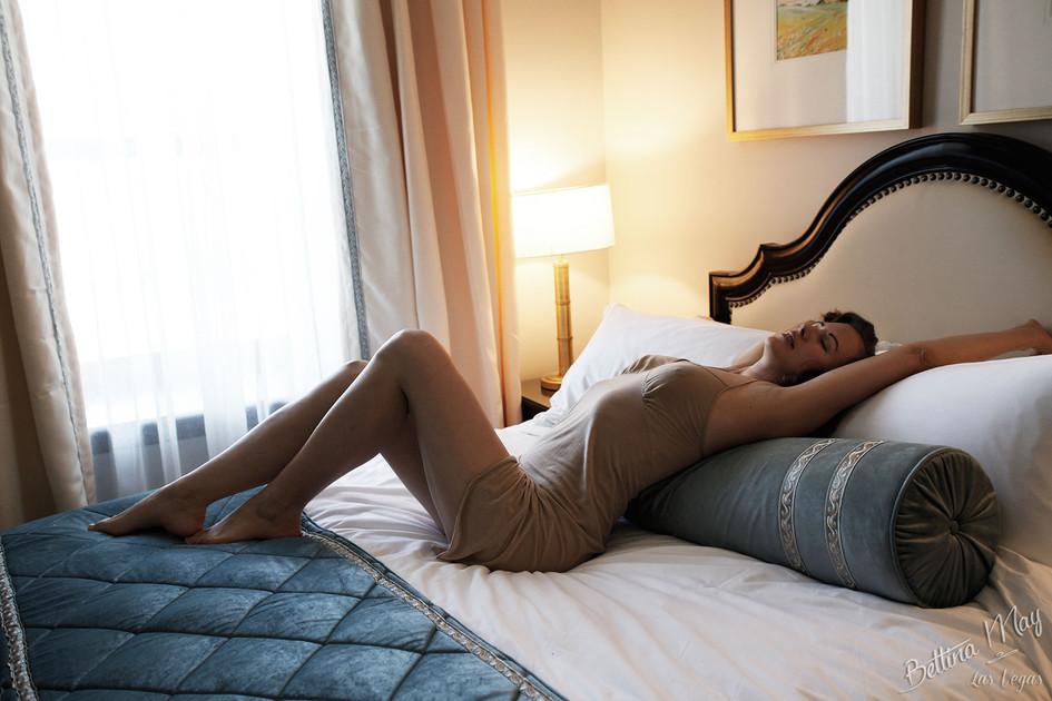 Bettina May in Slipping Into Morning