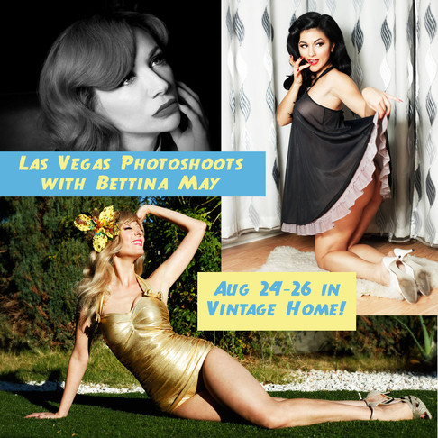 Vegas Photoshoots in August!