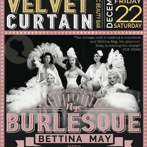 Las Vegas Burlesque show premiers this week!