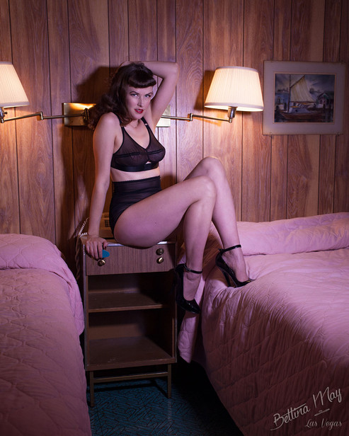 Bettina May at Silver Sands Motel