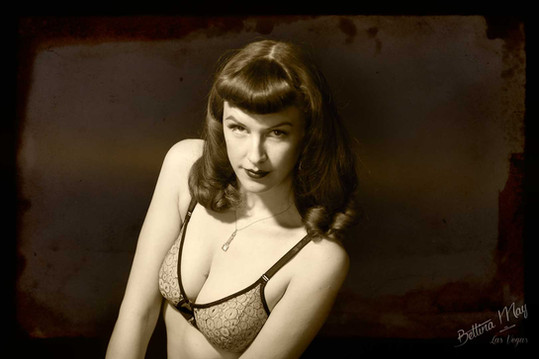 Bettina May in Ellesmere Lingerie