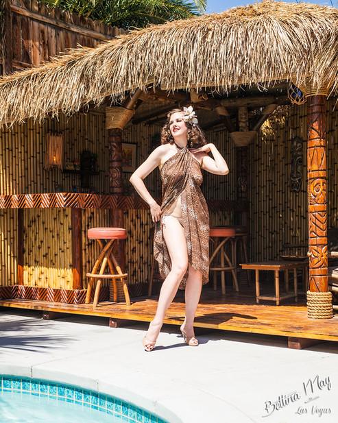 Bettina May in Sarong Summer