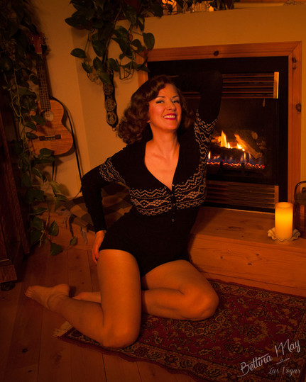 Bettina May - Fireplace