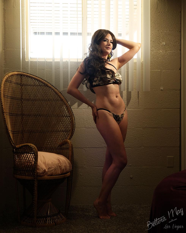 Bettina May in Bikini & Big Hair