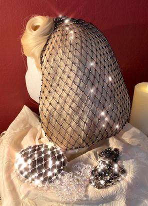 Crystal Snoods by Bettina May