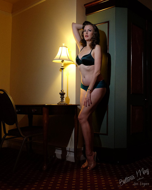 Bettina May In The Study