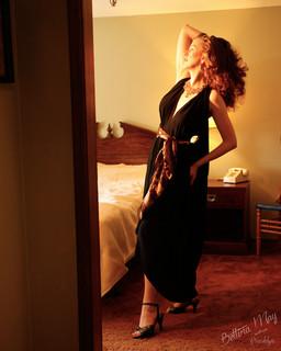 Bettina May in Meg's Christopher Dress
