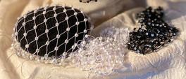 Crystal Bun Covers by Bettina May