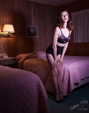 Bettina May at Silver Sands Motel