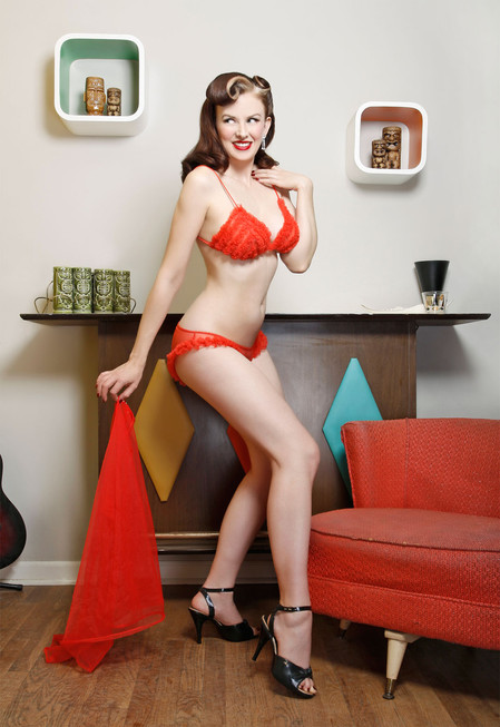 Bettina by Vixen Pinup for Bachelor Pad