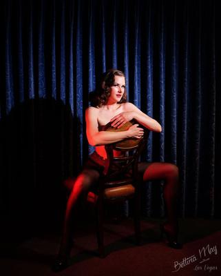 Bettina May in Sheertex pantyhose