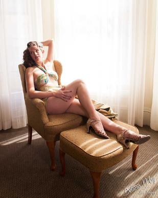 Bettina May in San Francisco Sunshine