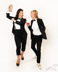 Angie Pontani & Jen Gapay by Bettina May
