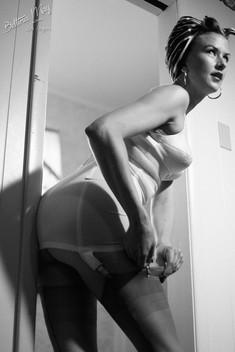 Bettina May in Motel Mood