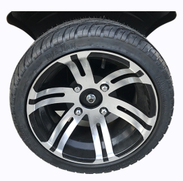 Super Street Tires and Wheel combo Set of 2