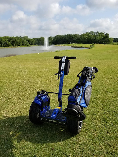 Blue SS with Golf Course Tires and Bag Rack SOLD