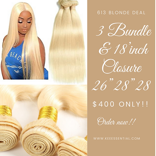 613 Blonde Bundle deal