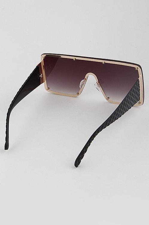 Multicolored Rectangle Sunglasses