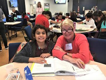 New volunteer With Ayasophia 4th grade g