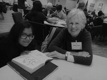 Volunteer Mary Ann mentors Daniella 5th