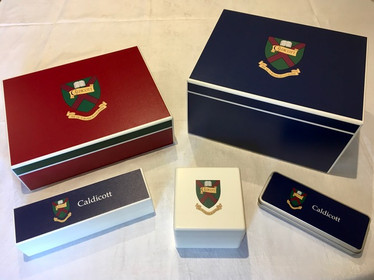 Bespoke Caldicott keepsake boxes. Order now, collect at the Market