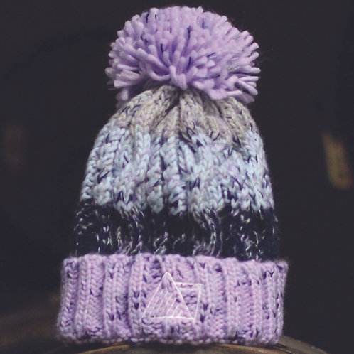Lilac Bobble Hat