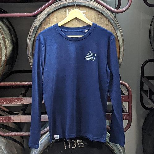 Navy Long Sleeved T-Shirt