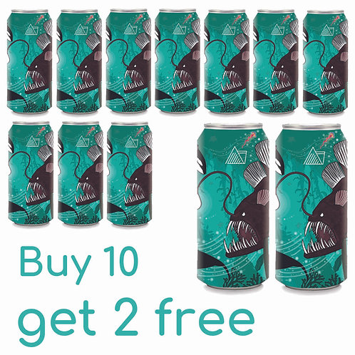 Buy 10 get 2 free Pursuit Cans