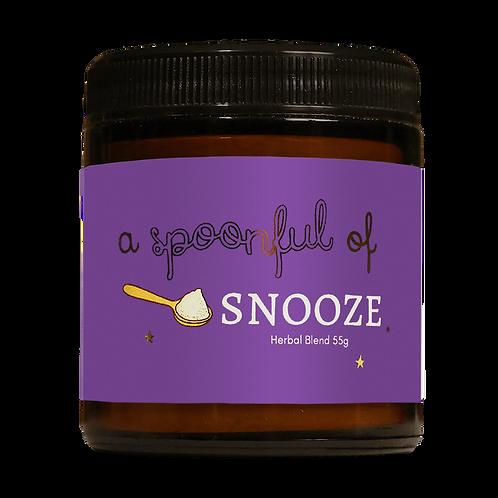 SNOOZE (sleep-enhancing latte blend)