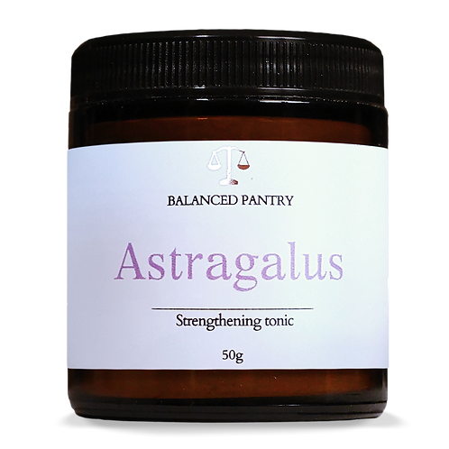 ASTRAGALUS (strengthening tonic)