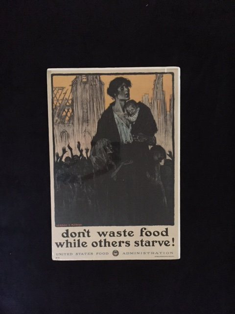 Don't Waste Food While Others Starve!