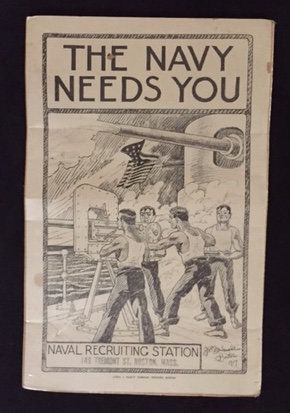 THE NAVY NEEDS YOU