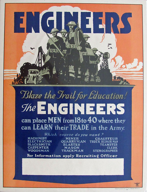 """ENGINEERS. Blaze the Trail for Education!"""