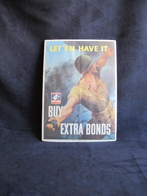 SOLD: LET 'EM HAVE IT. BUY EXTRA BONDS.