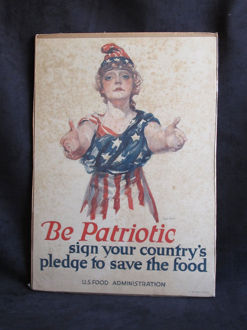 Be Patriotic, sign your country's pledge to save..