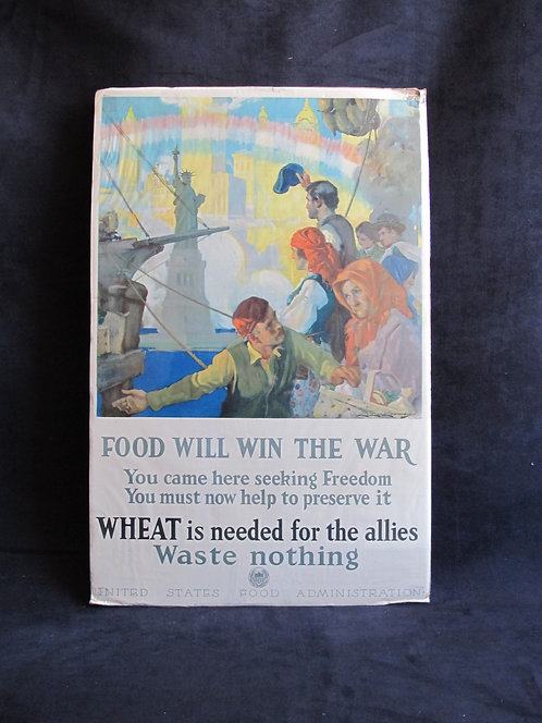 FOOD WILL WIN THE WAR...