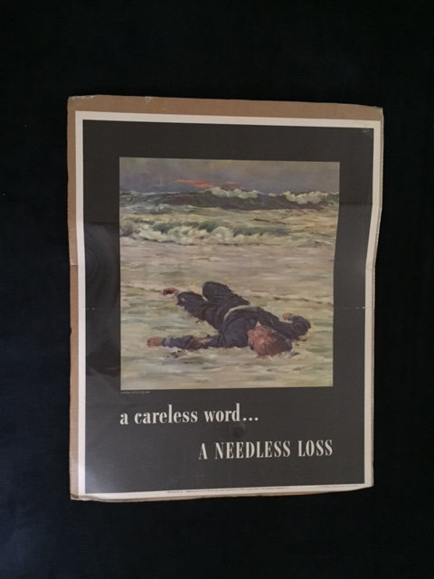 A CARELESS WORD...A NEEDLESS LOSS