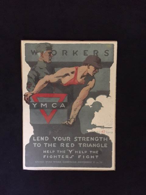 WORKERS, LEND YOUR STRENGTH TO THE RED TRIANGLE