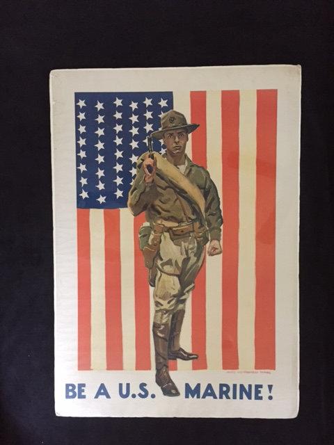 SOLD: BE A U.S. MARINE!